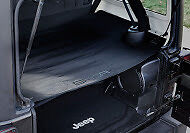 GPCA JKU Jeep Wrangler Trunk Cargo Cover for model 2007-2017