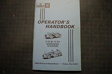 EUCLID S24 TS24 Overhung Scraper Owner Operator Operation Handbook Manual guide