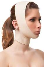 Facial Compression & Chin Support STRAP unisex smooth breathable BEIGE MEDIUM