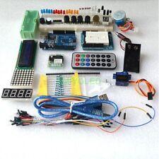 Kit de arduino uno R3 mas componentes para proyectos (en caja de plástico)