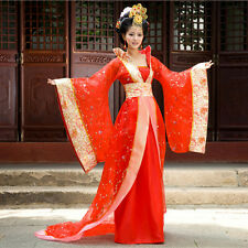 Women Chinese Traditional Ancient Style Cosplay Costume Dance Dress Clothing