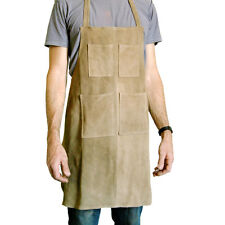 NEW suede leather apron