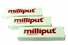 3 Packs Terracotta Milliput Epoxy Putty Modelling Filler Ceramic Repair X1016b