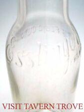 Original 1900s Esslinger Philadelphia 12½oz Beer Embossed Bottle Tavern Trove