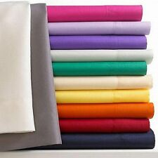 Fine Linens Essentials Collection Microfiber Queen Sheet Set NAVY BLUE U281