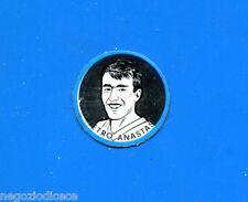 KICA - Sorprese Decalcomania Figurina-Sticker anni 60 -ANASTASI SCUDETTO METALLO