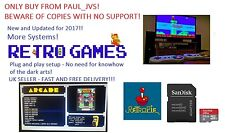 Raspberry Pi 2/3  32gb Retropie Retro Gaming Micro SD Card Configured + Kodi