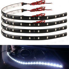 5x Bande Flexible Etanche 15 SMD 3528 LED 30CM Blanc Souple Tuning Lampe Voiture