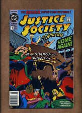 1992 Justice Society Of America #1 1st Jesse Quick VF/NM First Print DC Flash TV