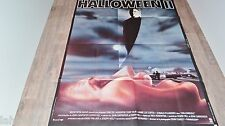 HALLOWEEN 2  :  Michael Myers  ! affiche cinema horreur