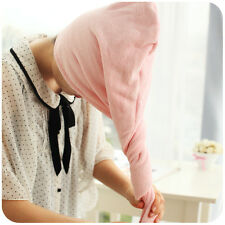 HOT After Shower Hair Drying Quick Dry Hair Hat Cap Wrap Towel Microfiber Made