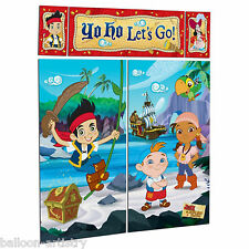 Jake & The Never Land Pirates Children's Party Scene Setter Wall Decorating Kit
