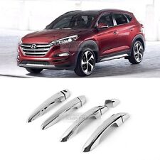 Chrome Door Catch Handle Cover Molding Garnish Trim for HYUNDAI 2016-2017 Tucson