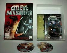 STAR WARS GALACTIC BATTLEGROUNDS USATO PC CDROM VERSIONE ITALIANA FR1 44315
