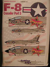 1/48 Cutting Edge F-8 Crusader Part 5 MiG KILLERS for Hasegawa new OOP Vought