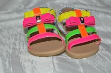 Toddler girls Shoes  4T Sandles with Bow NWT jumping beans