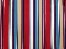 RICHLOOM COVERT SAILOR STRIPE BLUE OUTDOOR FURNITURE MULTIUSE FABRIC BY THE YARD