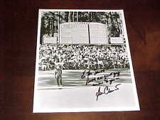 Ben Crenshaw Autographed Signed PGA Golf Photo with inscription