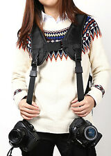 Camera Shoulder Strap Double Dual Shoulder Sling Strap For Nikon Canon Sony