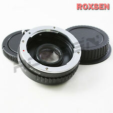 Minolta AF Sony Alpha mount lens to Canon EOS MOUNT ADAPTER 5D II III 60D 650D