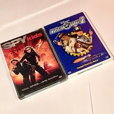 Spy kids (DVD 2001) and Inspector Gadget 2 (DVD, 2003)