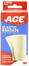 2 Pack - ACE Elastic Bandage with Hook Closure, 4 Inch, 1 Each