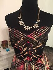 NWOT Urban outfitters Beaded Dress Strapless
