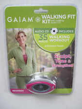 Beginner Walking Kit Guided Work Out Audio CD Step Calorie Counter Sculpt Tone