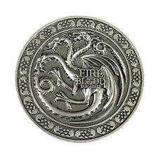 Vintage Game Of Thrones House Targaryen Symbol Metal Belt Buckle Movie Dragon