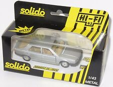 1/43 Solido Hi-Fi 43   1980`s Renault 25    Made in France