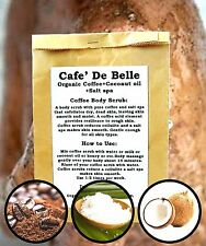 COFFEE&SALT SPA BODY EXFOLIATE SCRUB REDUCE STRETCH MARKS CELLULITE SMOOTH SKIN