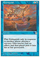 2x Extinguish MTG MAGIC P3K Portal Three Kingdoms Eng