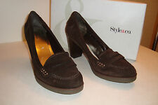 Style & Co Womens NWB Claire Dark Brown Heels Shoes 8.5 MED NEW