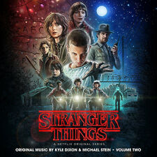 Stranger Things - Volume Two Soundtrack - Indie Exclusive 2 LP COLORED VINYL NEW