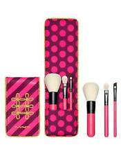 MAC Nutcracker Sweet Essential Brush Kit with Pouch *3piece brushs*  ($80 Value)