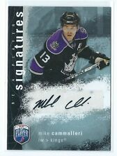 2007-08 UD BAP Be A Player Mike Cammalleri AUTO AUTOGRAPH KINGS