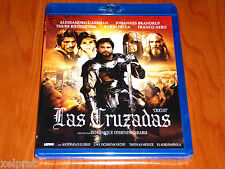 LAS CRUZADAS / CROCIATI / CRUSADERS - ESPAÑOL ENGLISH DEUTSCH Bluray Precintada
