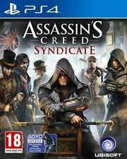 ASSASSINS CREED SYNDICATE PS4 Game (BRAND NEW SEALED) + 1 BONUS DLC