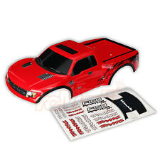 Traxxas Ford Raptor Pre-Painted Slash 4x4 Body Red 2WD 1:10 RC Cars Truck #5815R