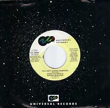 ROGER McGUINN & CHRIS HILLMAN  You Ain't Going Nowhere  45 from 1989  THE BYRDS