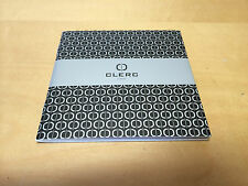 New - CLERC Icon8 Instructions Manual - Libro de instrucciones - FR ENG JAP