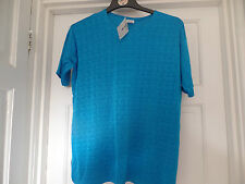 LADIES BLUE TOP SIZE  L/XL