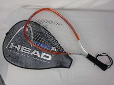 Head Ti.Flash XL Titanium Alloy Racquetball Racket Used With Case