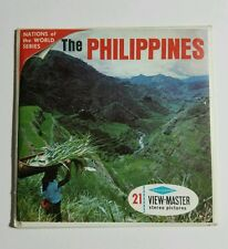 View-Master THE PHILIPPINES Nations of the World (B274) 3 Reels Book Coin Stamp