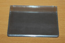 Clear Credit Card holder refill insert for card holder 10 pockets (20 cards)