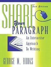 Share Your Paragraph, Second Edition
