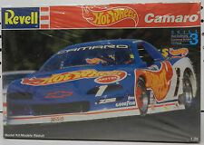 CHEVY CAMARO SS HOT WHEELS RACE CAR SCCA TRANS AM BALDWIN 1992 REVELL MODEL KIT
