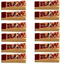 10 Packs/500 pcs Raw unbleached TIPS for hand rolled cigarette rolling paper
