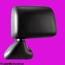 Toyota Hilux Ute Manual Black Rear View Door Mirror Left Hand Passenger Side NEW