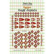 Battle Flag - Knights Hospitaller (Early Medieval) - 28mm